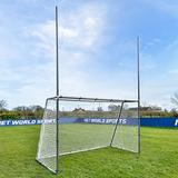 Forza Steel42 Football/Soccer Combination Goals | Metal Multi-Sport Goals [3 Sizes] | Football Goal & Soccer Goal 2-in-1 | Soccer Training & Football Practice Equipment (15ft x 7ft)