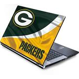 Skinit Decal Laptop Skin Compatible with Generic 17in Laptop (15.2in X 9.9in) - Officially Licensed NFL Green Bay Packers Design