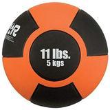 Champion Barbell Rubber Medicine Ball - 11 lb. - Orange