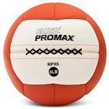 Champion Sports RPX6 Rhino Promax Slam Balls, 6 lb, Soft Shell with Non-Slip Grip, Medicine Wall Exercise Ball for Weightlifting, Plyometrics, Cross Training, & Home Gym Fitness