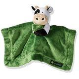 John Deere Baby Cuddle Snuggle Security Blanket Boy Girl Farm Animal Cow Pig Chick, GREEN
