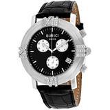 ROBERTO BIANCI WATCHES Women's Medellin Stainless Steel Swiss-Quartz Leather Calfskin Strap, Black, 23 Casual Watch (Model: RB18490)