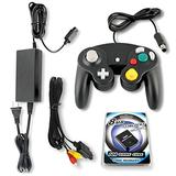 Gamecube Parts Bundle With Controller, Power Adapter, Memory Card and AV Cable by Other Future