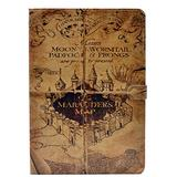 YHB Case for iPad 2/3/4 ,Marauder's Map Vintage Magic Pattern Leather Flip Stand Case Cover for Apple iPad 2, iPad 3 & iPad 4th Generation