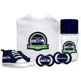 Baby Fanatic NFL Seattle Seahawks Infant and Toddler Sports Fan Apparel, Multicolor
