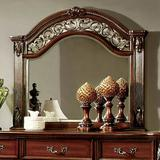 Astoria Grand Baumgartner Traditional Elegant Accent MirrorWood in Brown/Red, Size 41.75 H x 45.0 W x 2.88 D in   Wayfair ARGD5898 44338095