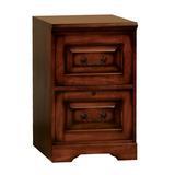 Lark Manor™ Friesen 2 Drawer Vertical File Cabinet Wood in Brown/Red, Size 30.0 H x 18.5 W x 22.0 D in   Wayfair DRBC2243 31019856