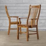 Loon Peak® Corwin Solid Wood Dining ChairWood in Brown, Size 41.5 H x 24.75 W x 23.0 D in   Wayfair LOON3352 27934342