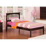 Harriet Bee Bellemoor Extra Long Twin Platform Bed Wood in Brown, Size 43.63 W x 82.5 D in | Wayfair 863FF354078D4782912BF86C2821B9AE