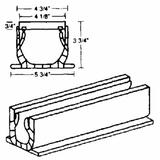 National Diversified 400-1 Spee-D Channel Drain