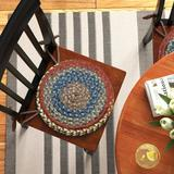 Andover Mills™ Orval Striped Chair Pad in Brown, Size 0.5 H x 15.0 W x 15.0 D in   Wayfair AGTG3403 42830568