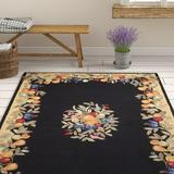 August Grove® Westwood Area Rug in Black, Size 96.0 H x 60.0 W x 0.5 D in | Wayfair AGTG2365 42297821