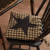August Grove® StarSeat Chair Pad Cushion Cotton Blend, Size 3.0 H x 15.0 W x 15.0 D in | Wayfair AGTG4944 43369970