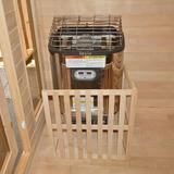 ALEKO Toule Stove Room Sauna Heater, Size 29.0 H x 19.0 W x 13.0 D in | Wayfair NTSA30