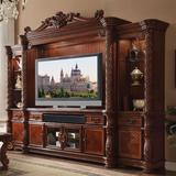 """Astoria Grand Welty Entertainment Center for TVs up to 88"""" Wood in Brown   Wayfair ARGD2945 42769898"""