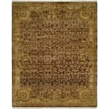 Astoria Grand Masonville Oriental Hand Knotted Wool Brown/Ivory Area RugWool in White, Size 108.0 H x 72.0 W x 0.5 D in   Wayfair ARGD6750 45196890