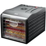 Aroma 6 Tray Professional Electric Food Dehydrator in Black, Size 12.4 H x 13.58 W x 17.72 D in | Wayfair AFD-815B