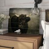 August Grove® Polson Photographic Print Plaque Wood in Black/Brown, Size 14.0 H x 20.0 W x 0.75 D in   Wayfair ATGR2275 27006871