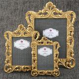 Astoria Grand Venice 3 Piece Baroque Openwork Picture Frame Set Ceramic in Yellow | Wayfair ATGD7725 41378957