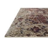 Charlton Home® Rosimund Oriental/Beige Area Rug Polyester in Red, Size 0.25 D in   Wayfair 2433D7753DFD4BFA905B4668DD491BBA