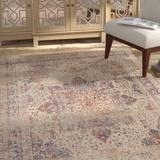 Bungalow Rose Coert Ivory/Red Area Rug Polyester in Blue/Red/White, Size 112.0 H x 79.0 W x 0.25 D in   Wayfair BCB267C983FA4701B7F706466DBBC734