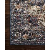 Bungalow Rose Coert Area Rug Polyester in Blue, Size 18.0 H x 18.0 W x 0.25 D in   Wayfair AFA558A0BDD6430C81B3F0EBBA5B7971