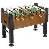 """Carrom Signature 55"""" Foosball Table Manufactured wood in Brown/Green, Size 50.0 H x 55.0 W x 36.0 D in 