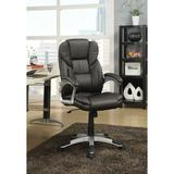Wildon Home® Executive Chair Upholstered in Brown, Size 33.0 H x 21.0 W x 22.5 D in | Wayfair 911156