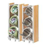 Cal-Mil Bamboo Condiment Dispenser & Holder, Size 17.0 H x 6.5 W x 8.0 D in   Wayfair 1283