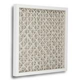 Zentique Abstract Paper Wall Decor in White, Size 23.6 H x 23.6 W x 1.75 D in   Wayfair ZEN22165D