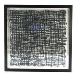 Zentique Abstract Paper Wall Decor in Black, Size 47.25 H x 47.25 W x 2.0 D in   Wayfair ZEN22639B