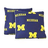 College Covers NCAA Throw Pillow Polyester/Polyfill/Cotton/Cotton Blend, Size 16.0 H x 16.0 W x 4.0 D in | Wayfair MICDPPR