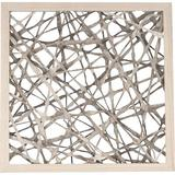Zentique Abstract Paper Wall Decor in Brown, Size 17.4 H x 17.4 W x 1.3 D in   Wayfair ZEN20483A