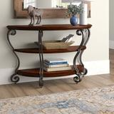 Darby Home Co Voorhees Console Table Wood in Brown/Gray/Red, Size 30.0 H x 48.0 W x 19.0 D in   Wayfair DRBC8615 33613357