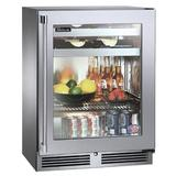 """Perlick Signature Series 5.2 cu. ft. 24"""" Undercounter Beverage Refrigerator Glass in Gray, Size 32.0 H x 24.0 W x 19.0 D in 