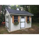 EZ-Fit Sheds Riverside 10 ft. W x 12 ft. D Wood Storage Shed in Brown/Gray, Size 120.0 H x 120.0 W x 144.0 D in   Wayfair 10X12EZKITR