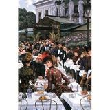 Buyenlarge 'The Women of the artist' by James Tissot Painting Print in Brown/Green, Size 30.0 H x 20.0 W x 1.5 D in   Wayfair 0-587-25590-0C2030