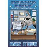 Buyenlarge 'Dean's List' by Richard Kelly Graphic Art in Blue/Brown, Size 42.0 H x 28.0 W x 1.5 D in | Wayfair 0-587-20309-9C2842