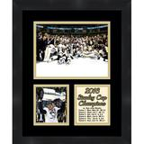 Frames By Mail Pittsburgh Penguins Sidney Crosby 2016 Stanley Cup Collage Framed Photographic Print Paper in Black/Brown | Wayfair TP04-11-00-SCSC4