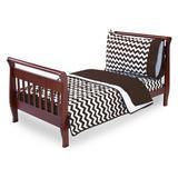 Harriet Bee Clint 4 Piece Toddler Bedding Set Cotton Blend in Brown   Wayfair HBEE3946 41155792