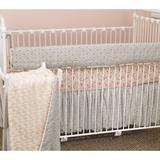 Harriet Bee Oxford 4 Piece Crib Bedding Set Cotton/Synthetic Fabric in Blue/Pink/Red | Wayfair HBEE4948 41566202
