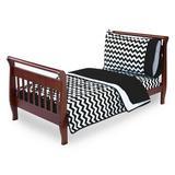 Harriet Bee Clint 4 Piece Toddler Bedding Set Cotton Blend in Black | Wayfair HBEE3946 41155793