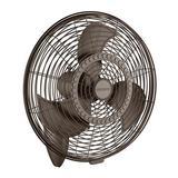 Kichler Pola Oscillating Wall Mounted Fan in Brown, Size 0.25 H x 24.0 W x 4.0 D in | Wayfair 339224SNB