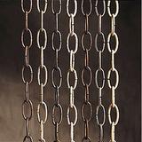 "Kichler 36 "" Outdoor Accessory Chain Metal in Brown, Size 36.0 H x 1.0 W x 1.0 D in | Wayfair 4927CV"