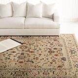 Lauren Ralph Lauren Tristan Oriental Beige Area Rug Polypropylene in White, Size 96.0 W x 0.39 D in   Wayfair LRL1299E-8