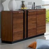 Latitude Run® Catie Wood SideboardWood in Brown, Size 35.4 H x 62.9 W x 16.5 D in   Wayfair LDER1305 41577436