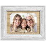Northland Frames and Gifts Grammy and Us Picture Frame Wood in Brown, Size 5.0 H x 7.0 W x 1.0 D in | Wayfair 0507GRAMMYUSOO