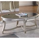 Rosdorf Park Derry Coffee Table Wood in Brown/Yellow, Size 19.0 H x 48.0 W x 24.0 D in   Wayfair ROSP5428 43043550