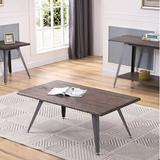 17 Stories Somonia Coffee Table Wood in Brown/Gray/Green, Size 19.0 H x 50.0 W x 28.0 D in   Wayfair STSS6588 43172048