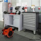Stalwart Heater Attachment for Industrial Portable Blower Fan in Black, Size 3.0 H x 4.5 W x 8.5 D in   Wayfair M600039